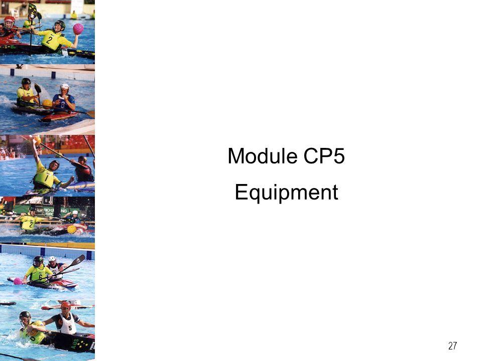 Module CP5 Equipment