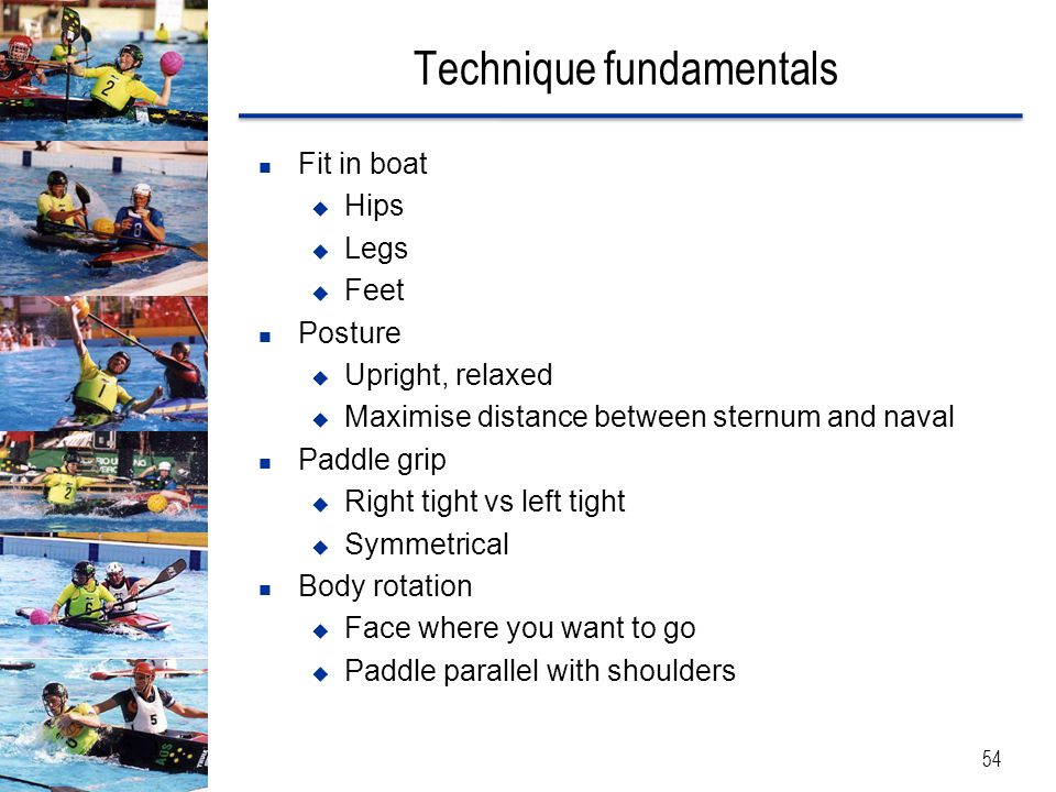 Technique fundamentals