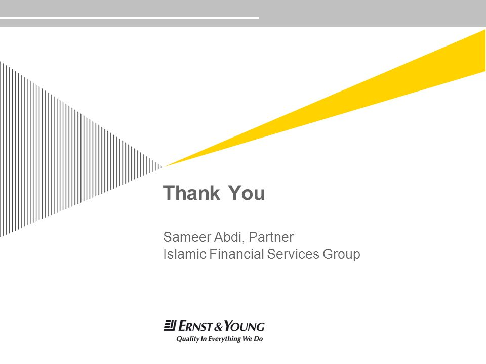 Sameer Abdi, Partner Islamic Financial Services Group