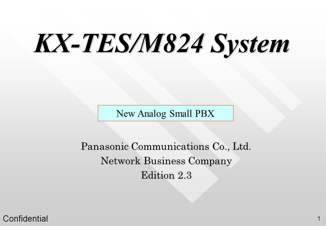 KX-TES/M824 System New Analog Small PBX