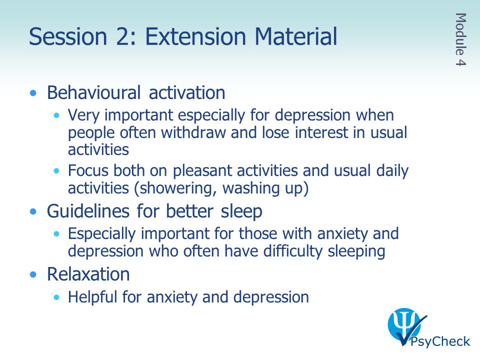 Session 2: Extension Material