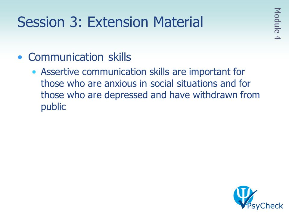Session 3: Extension Material