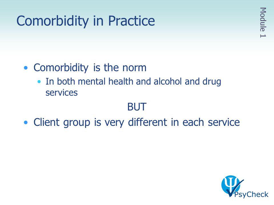 Comorbidity in Practice