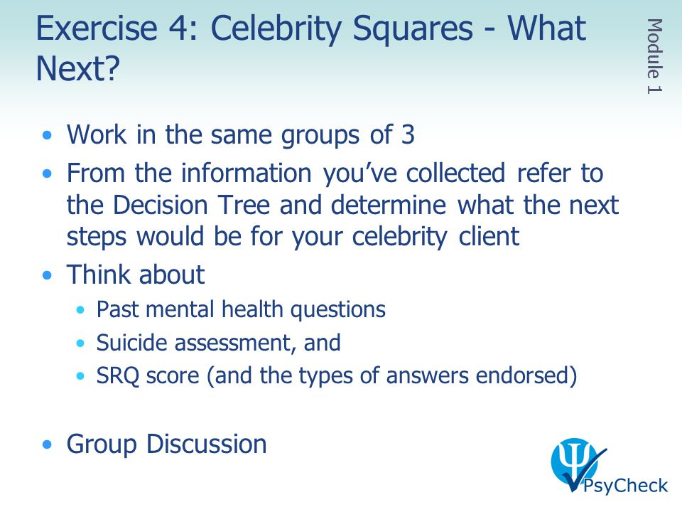 Exercise 4: Celebrity Squares - What Next