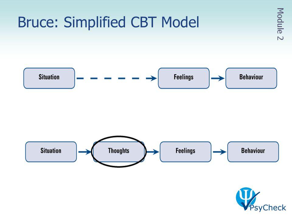 Bruce: Simplified CBT Model