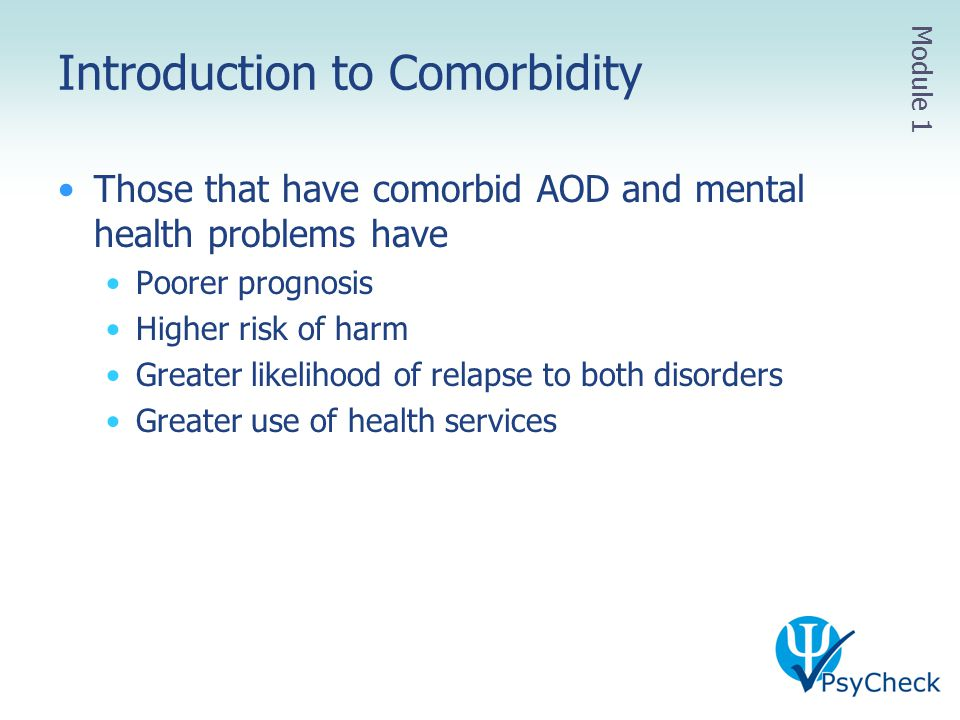 Introduction to Comorbidity