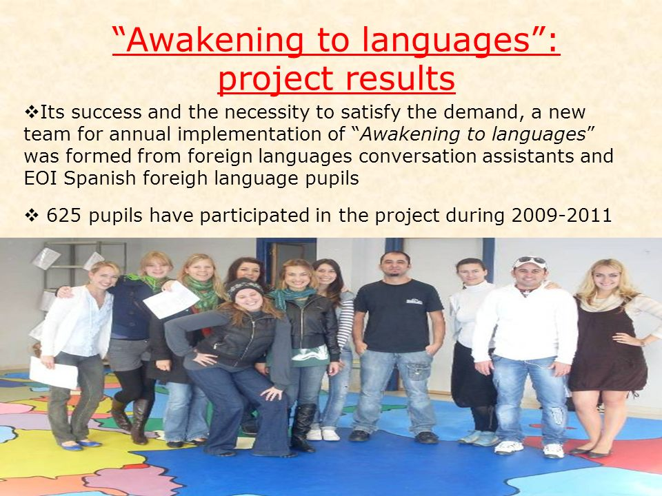 Awakening to languages :