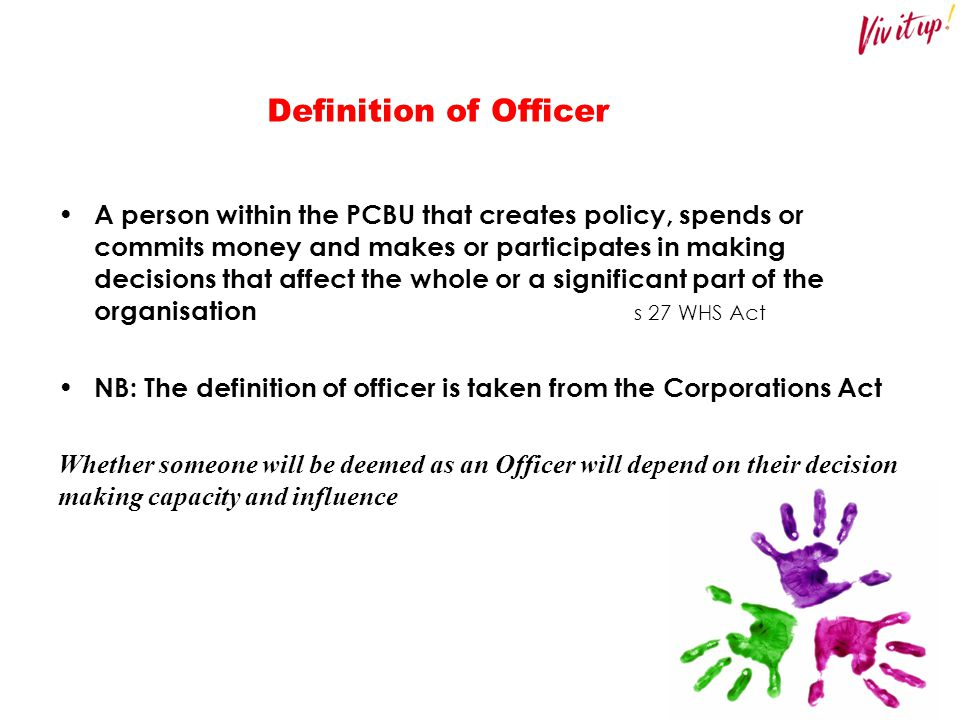 Definition of Officer