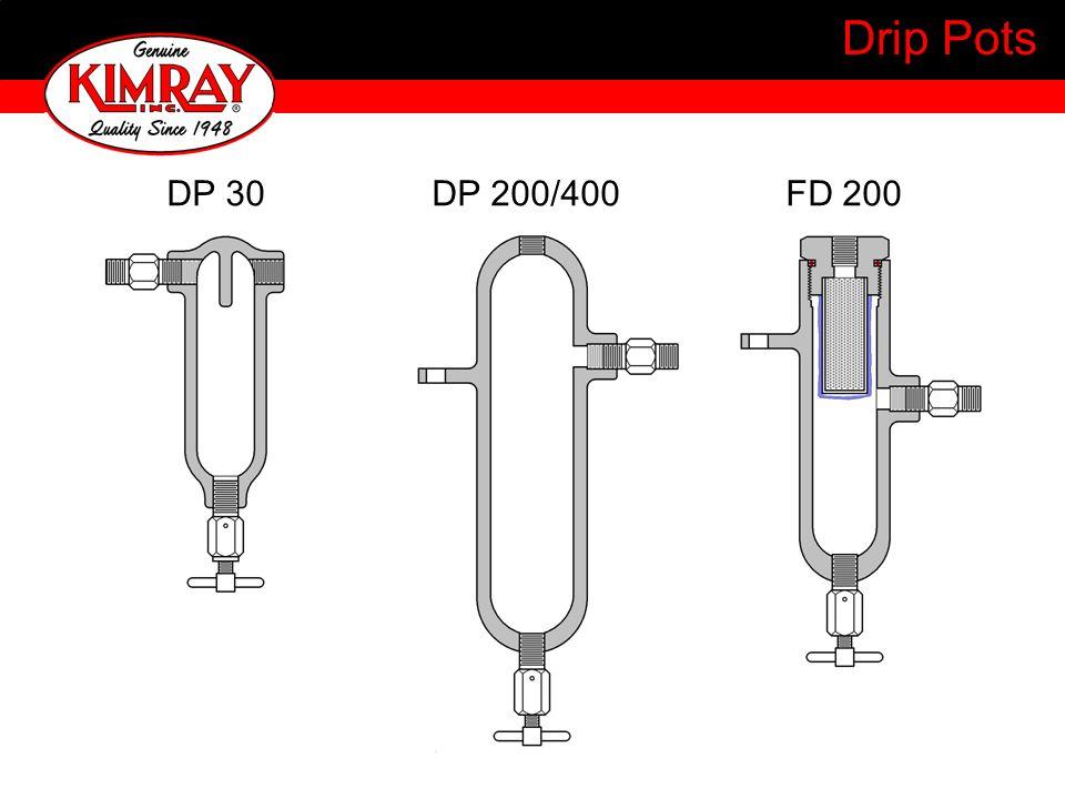 Drip Pots DP 30 DP 200/400 FD 200