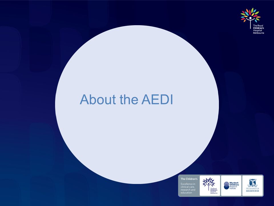 About the AEDI