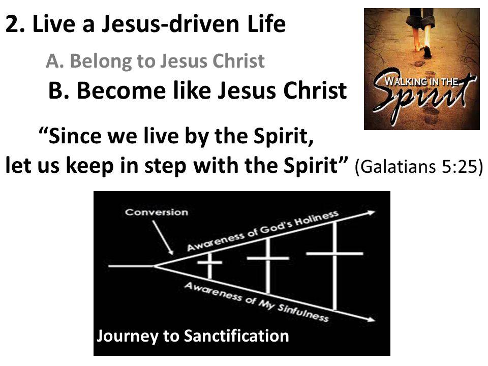 B. Become like Jesus Christ