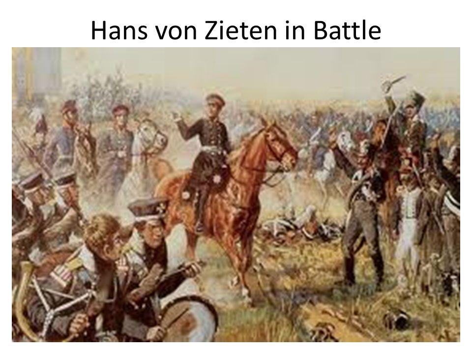 Hans von Zieten in Battle