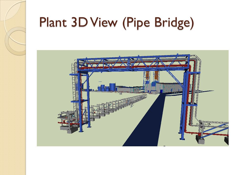 Plant 3D View (Pipe Bridge)