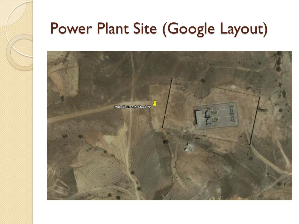 Power Plant Site (Google Layout)