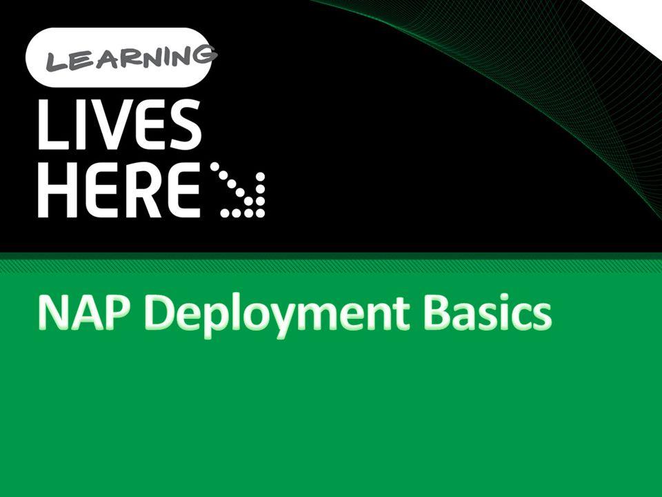 NAP Deployment Basics Tech·Ed North America 2009 4/6/2017 9:33 AM