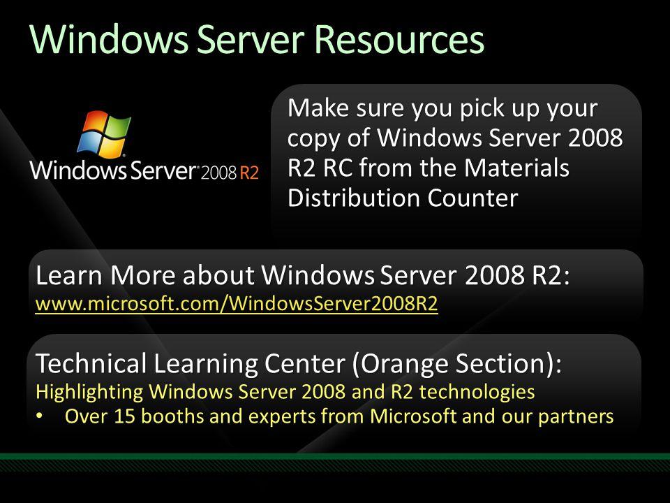 Windows Server Resources