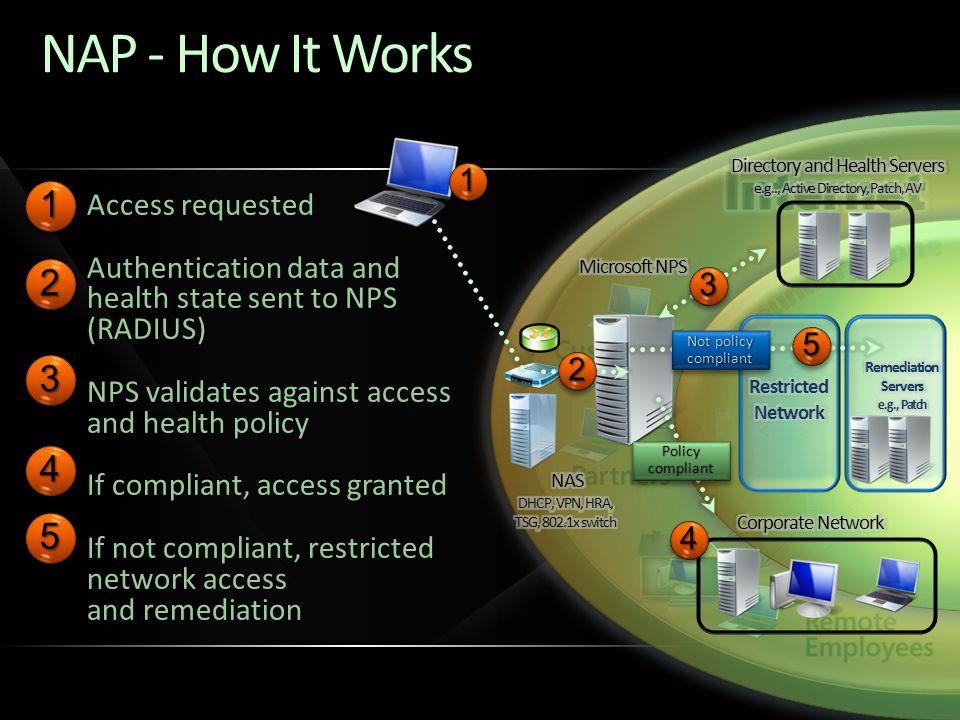 Remediation Servers e.g., Patch