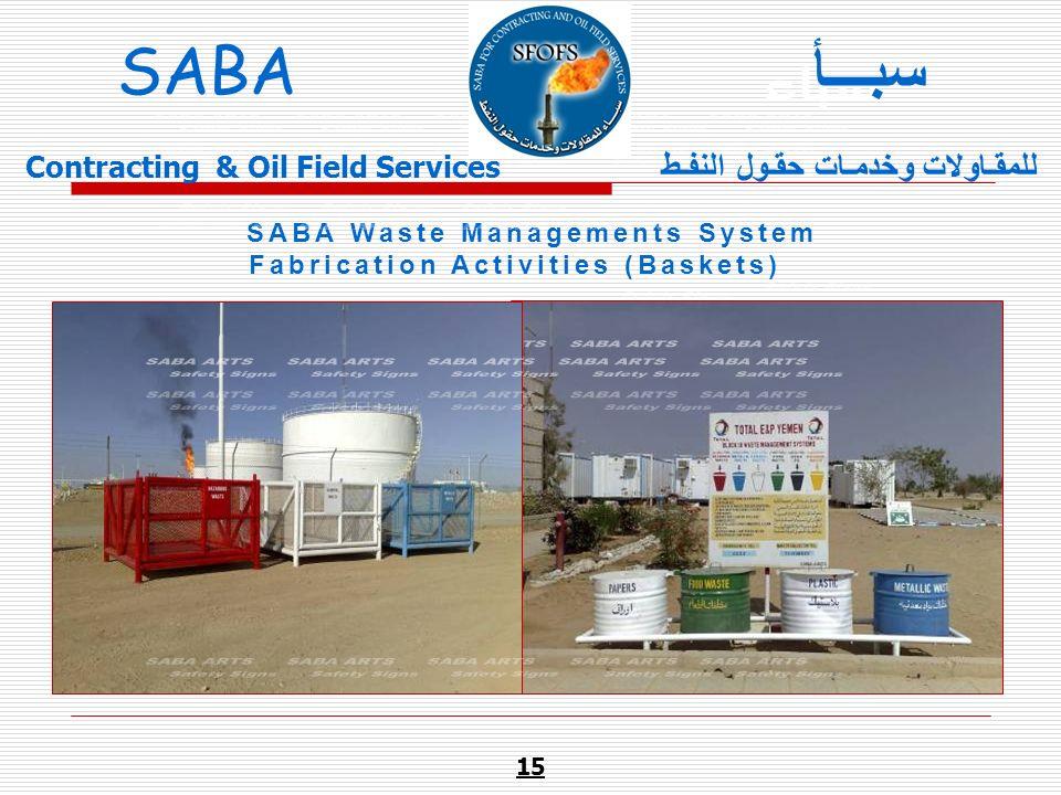 سبـــأ SABA ARTS SABA ARTS SABA ARTS SABA ART SABA ARTS Safety Signs