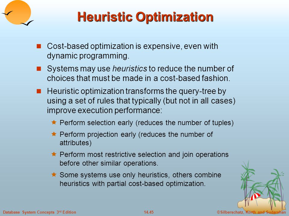 Heuristic Optimization