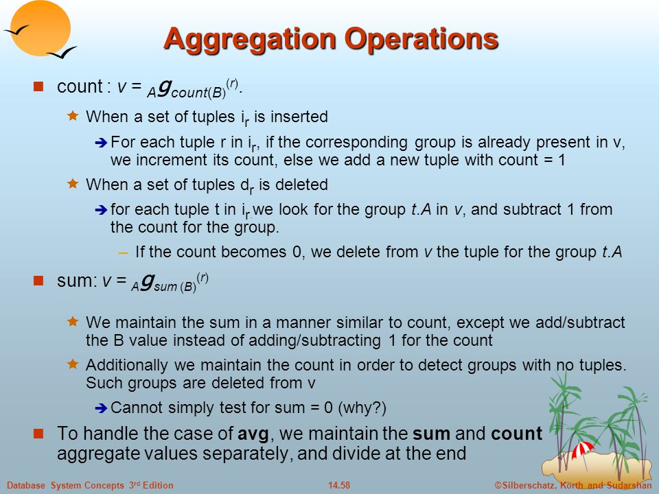 Aggregation Operations