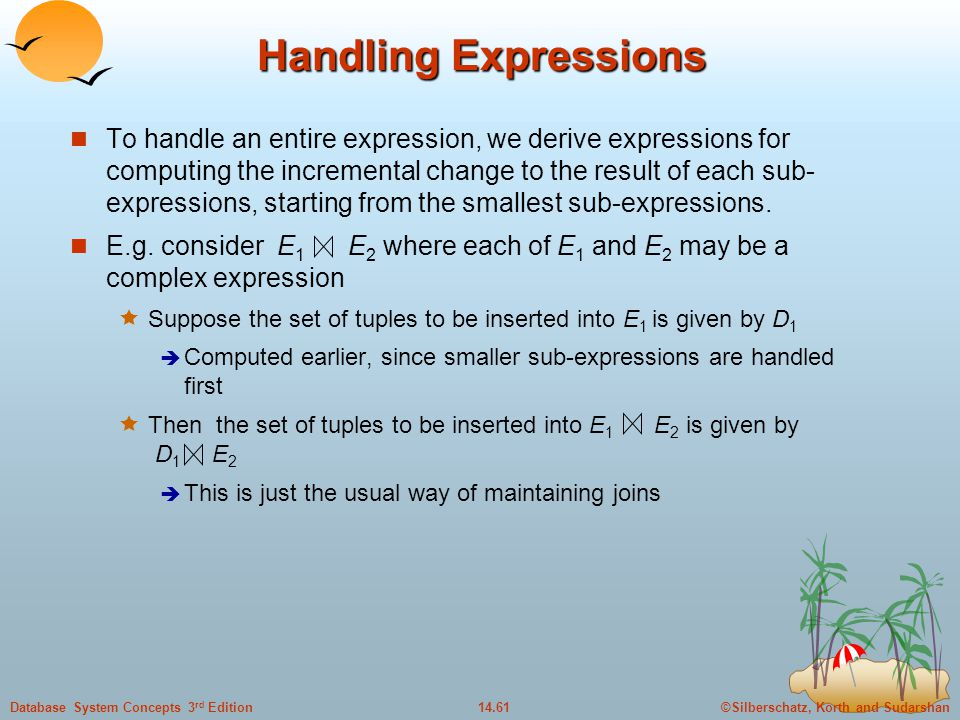 Handling Expressions