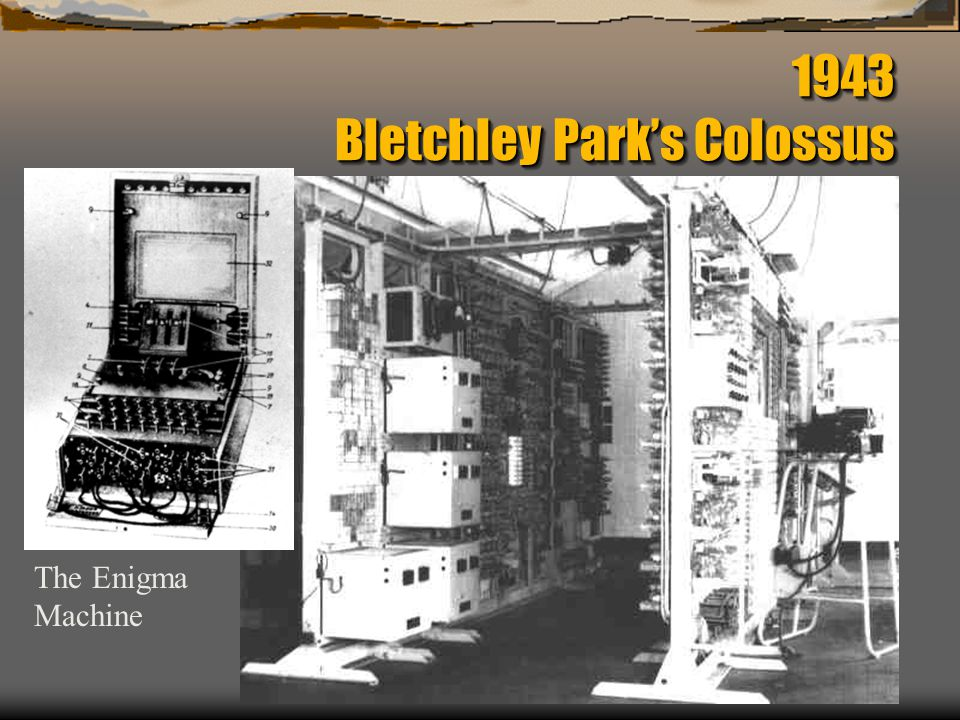 1943 Bletchley Park's Colossus