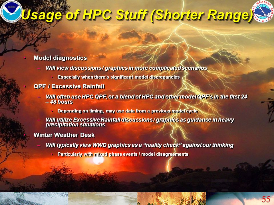 Usage of HPC Stuff (Shorter Range)