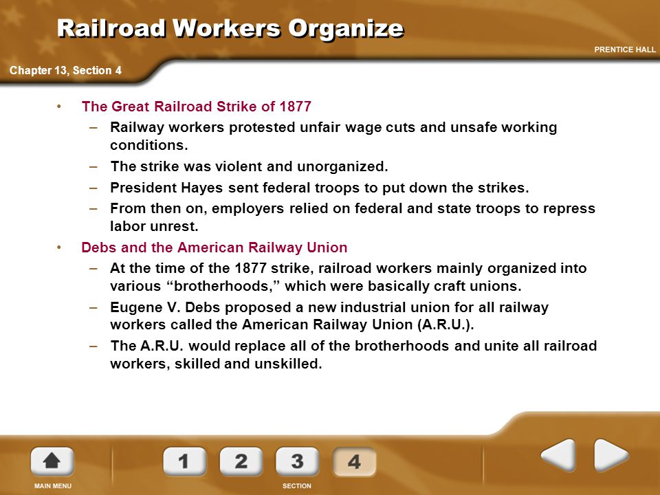 Railroad Workers Organize