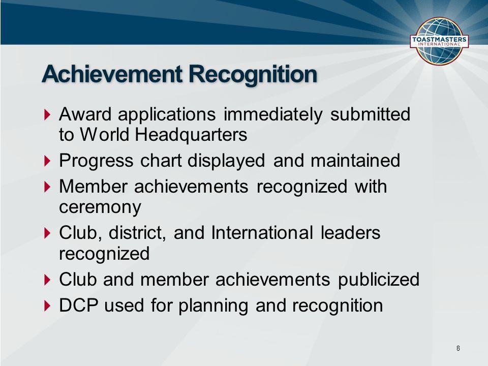 Achievement Recognition