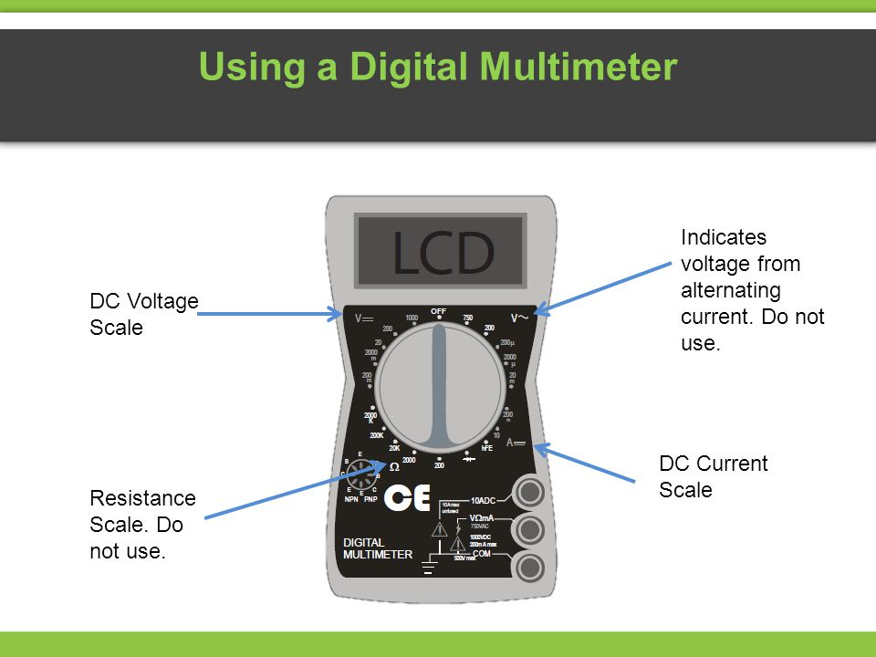 Using a Digital Multimeter