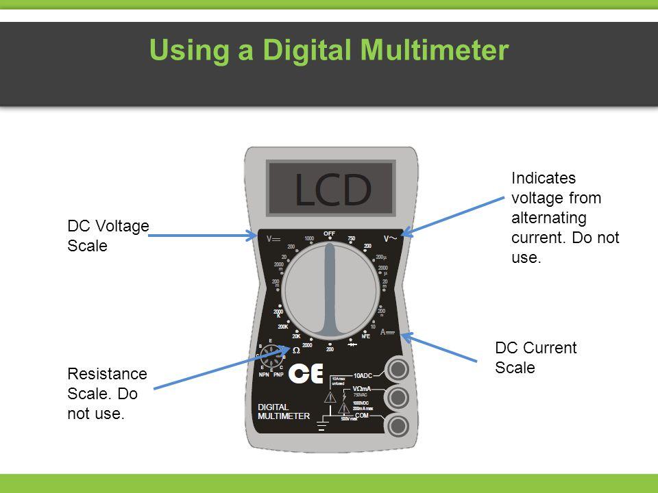 Using a Digital Multimeter