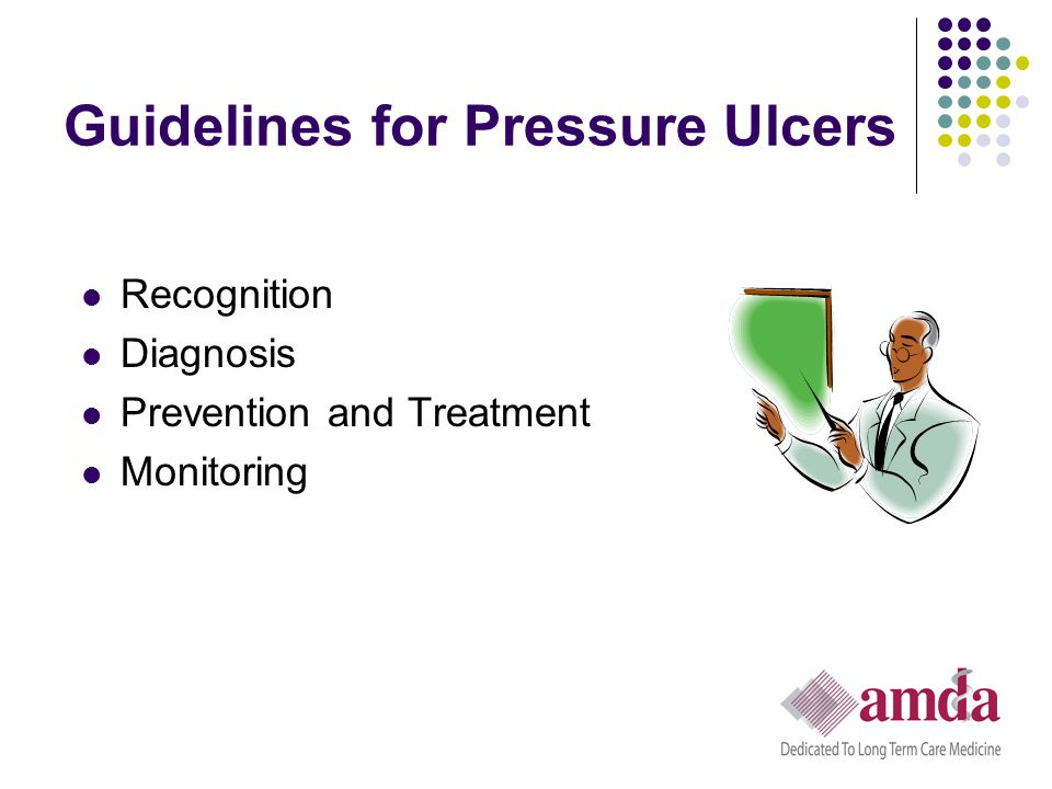 Guidelines for Pressure Ulcers