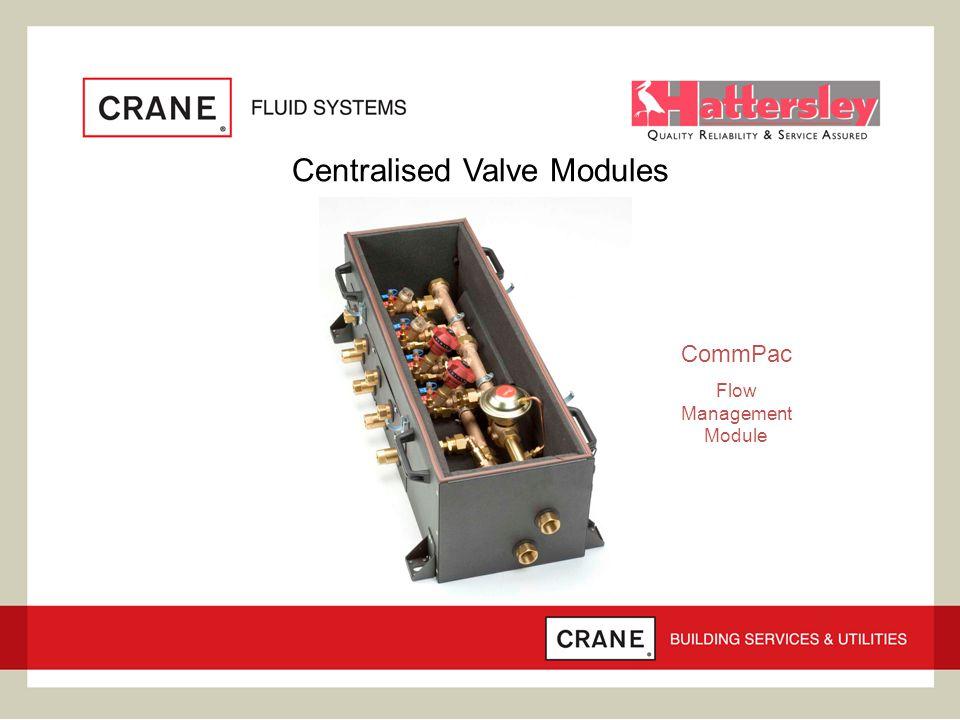 Centralised Valve Modules