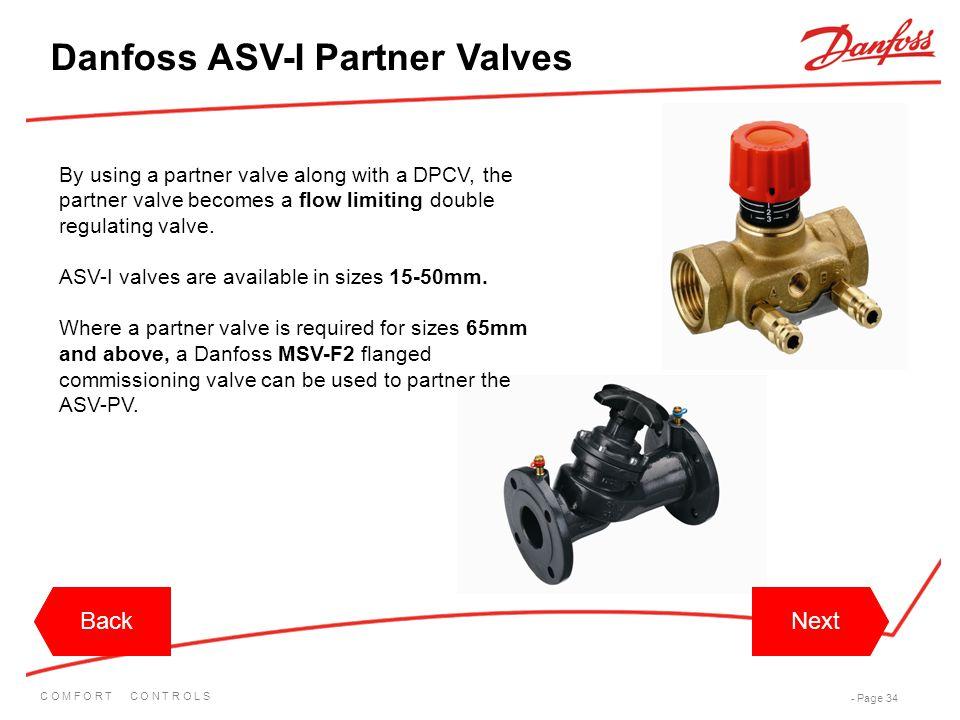Danfoss ASV-I Partner Valves