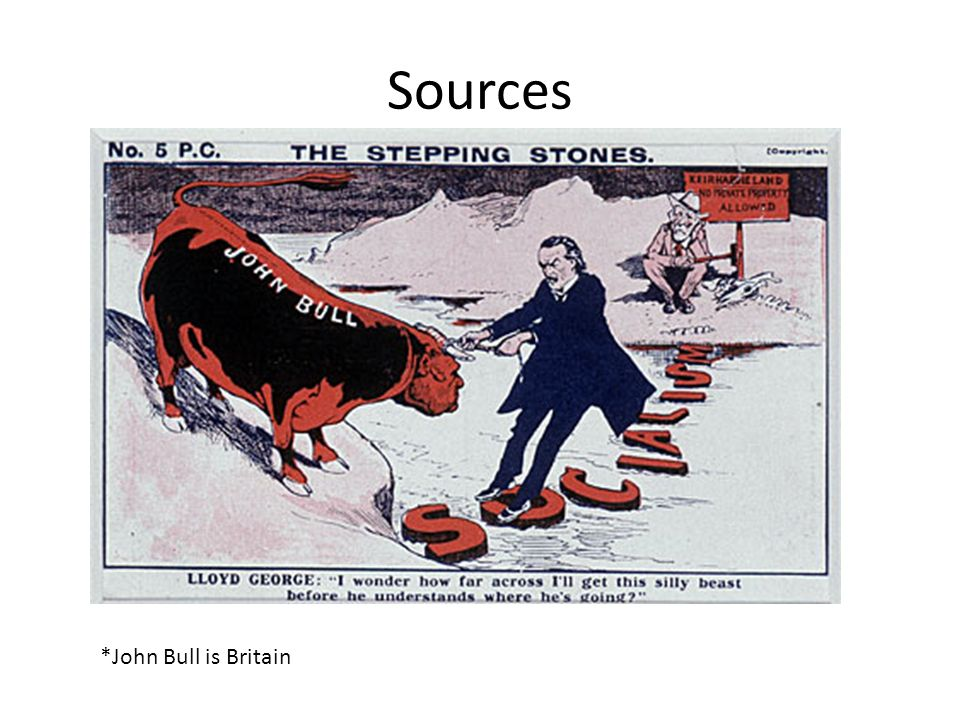 Sources *John Bull is Britain