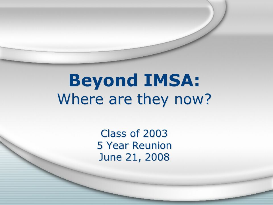Beyond IMSA: Where are they now