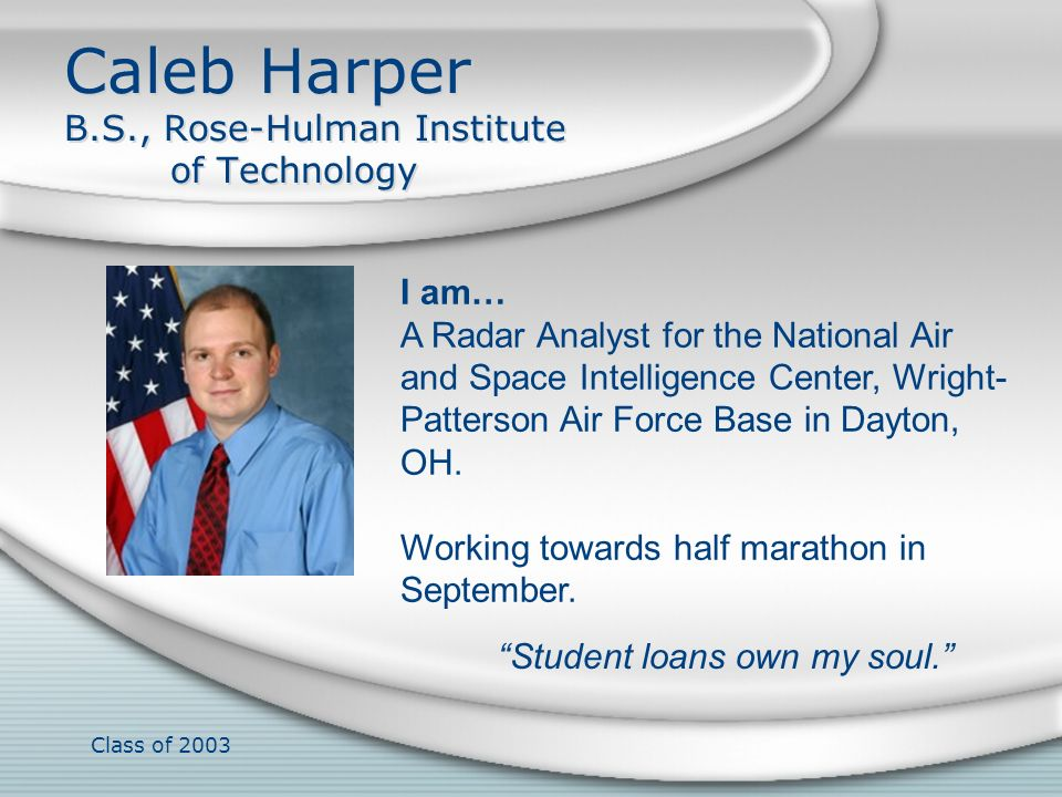 Caleb Harper B.S., Rose-Hulman Institute of Technology