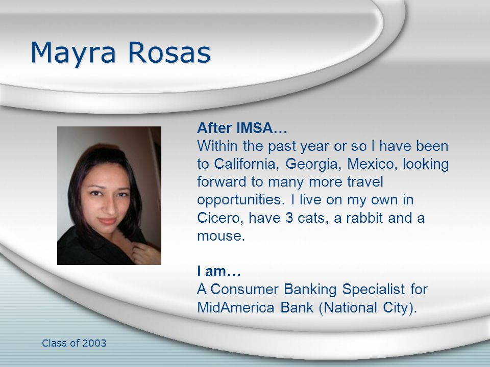 Mayra Rosas After IMSA…