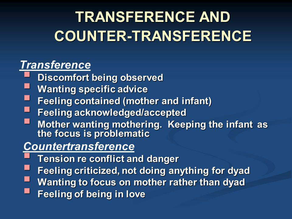 dissecting transference and countertransference essay