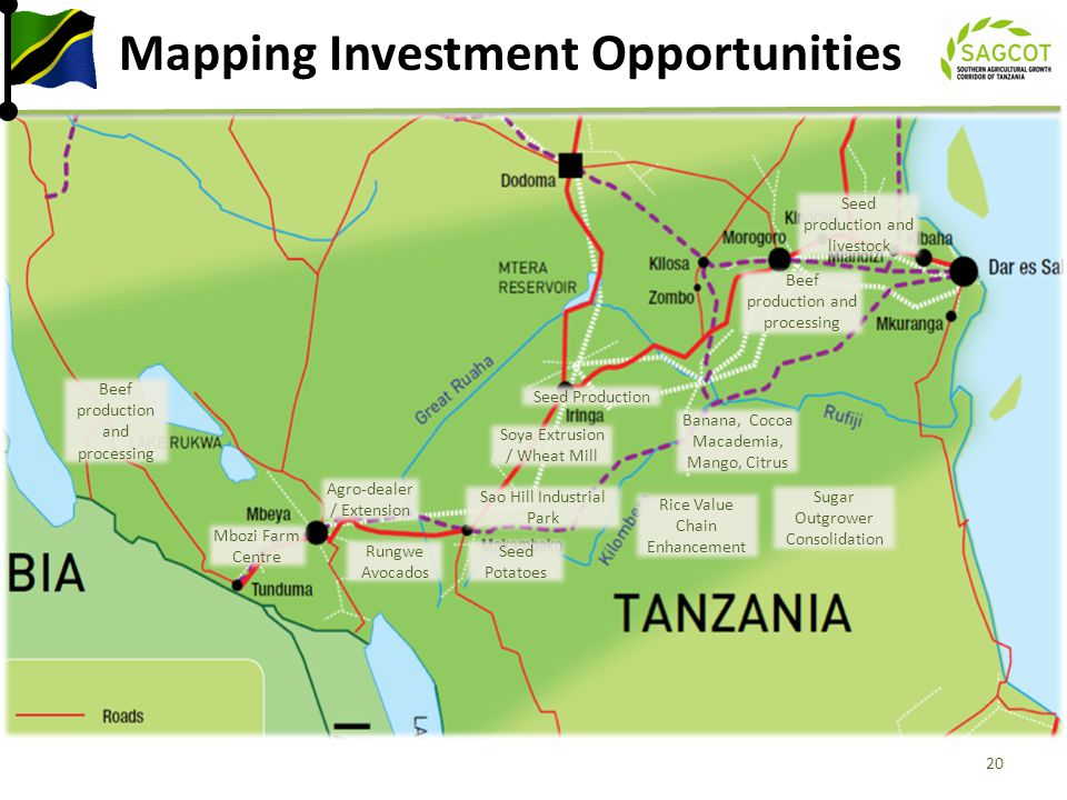 Mapping Investment Opportunities