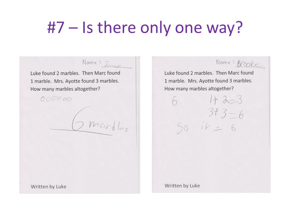 #7 – Is there only one way