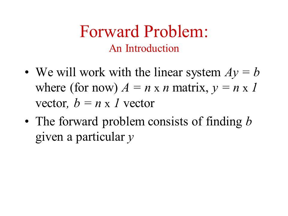 Forward Problem: An Introduction