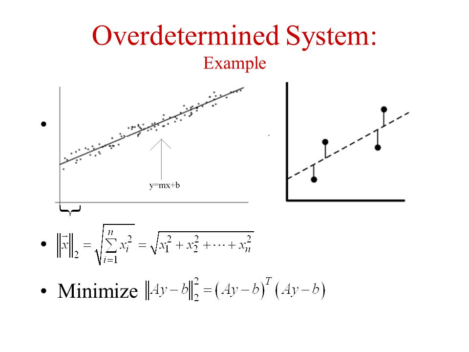 Overdetermined System: Example