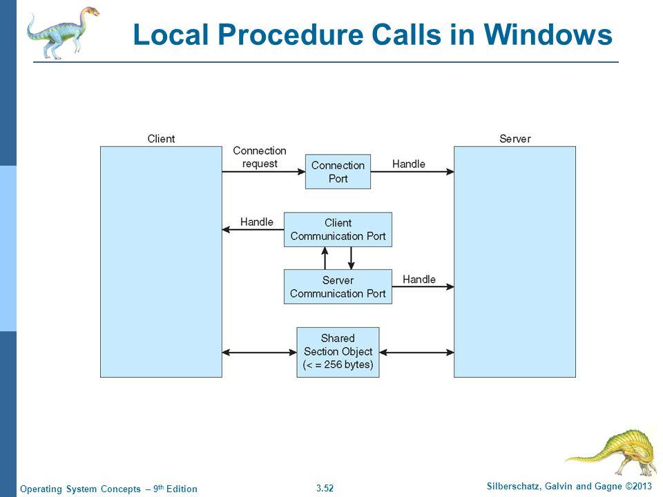 Local Procedure Calls in Windows