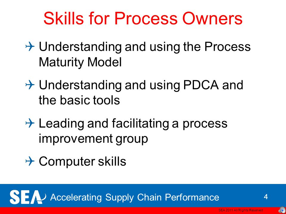 Skills for Process Owners