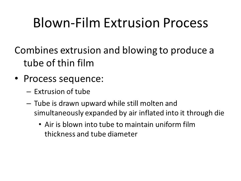 Blown‑Film Extrusion Process