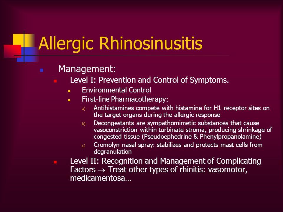 Allergic Rhinosinusitis