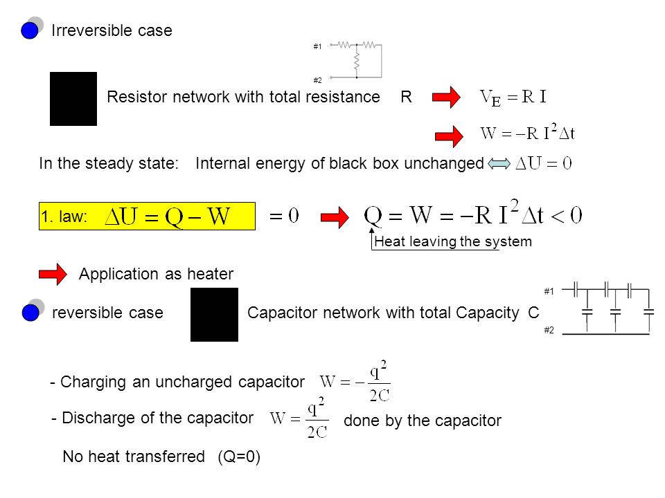 Resistor network with total resistance R