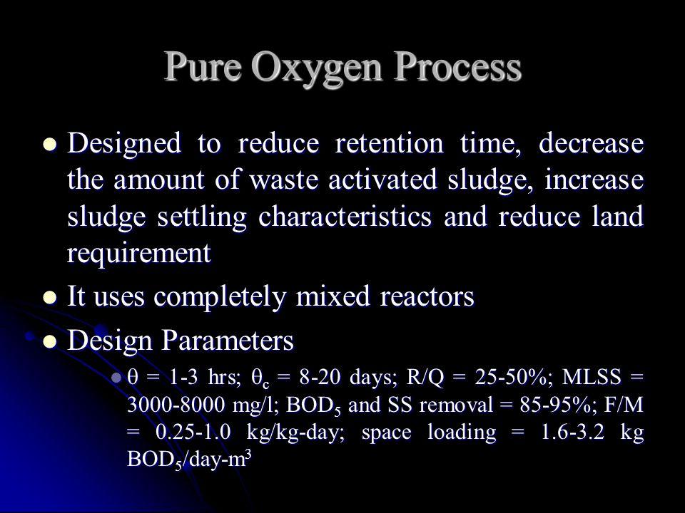 Pure Oxygen Process