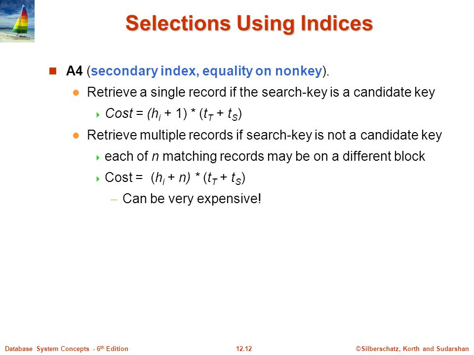 Selections Using Indices
